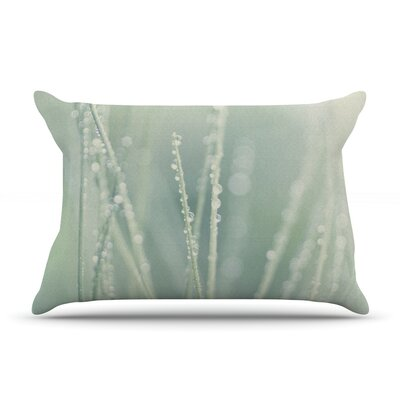 Blue Ice by Ingrid Beddoes Featherweight Pillow Sham Size: Queen, Fabric: Woven Polyester