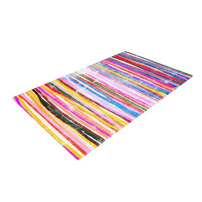 Frederic Levy Hadida Fancy Stripes Pastel Area Rug Rug Size: 2 x 3