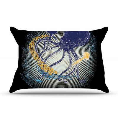 Tentacular Trap by Frederic Levy-Hadida Featherweight Pillow Sham Size: King, Fabric: Woven Polyester
