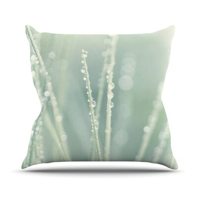 Blue Ice by Ingrid Beddoes Throw Pillow Size: 26 H x 26 W x 5 D