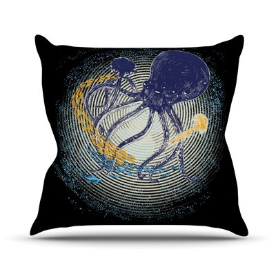 Tentacular Trap by Frederic Levy-Hadida Octopus Throw Pillow Size: 26 H x 26 W x 1 D