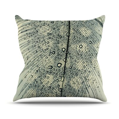 Feather Light by Ingrid Beddoes Throw Pillow Size: 18 H x 18 W x 3 D