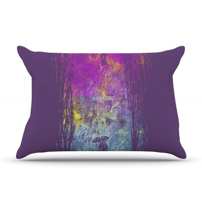 Frederic Levy-Hadida Purple Rain Pillow Case