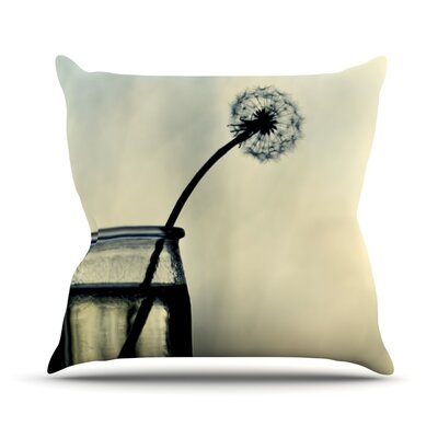Make A Wish by Ingrid Beddoes Throw Pillow Size: 26 H x 26 W x 5 D