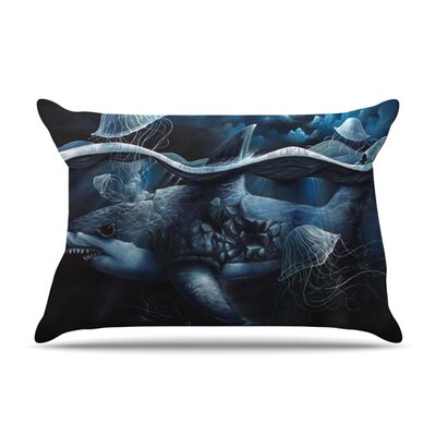 Invictus by Graham Curran Featherweight Pillow Sham Size: Queen, Fabric: Woven Polyester
