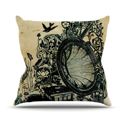 Sound of Nature Throw Pillow Size: 26 H x 26 W x 1 D