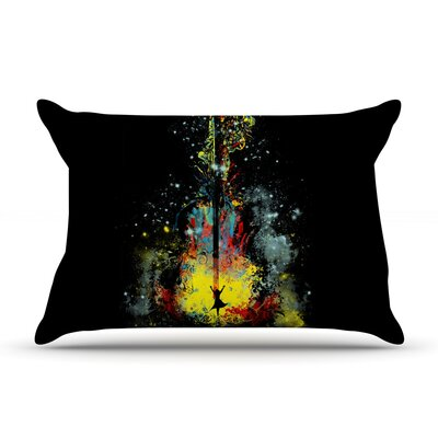 Frederic Levy-Hadida Midnight Syphony Pillow Case