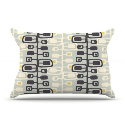 Carnaby by Gill Eggleston Featherweight Pillow Sham Size: Queen, Fabric: Woven Polyester