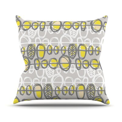 Benin by Gill Eggleston Throw Pillow Size: 18 H x 18 W x 1 D