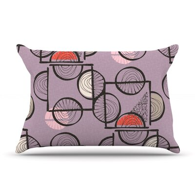 Emmanuel by Gill Eggleston Featherweight Pillow Sham Size: Queen, Fabric: Woven Polyester