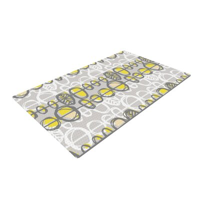 Gill Eggleston Benin Yellow/Gray Area Rug Rug Size: 4 x 6