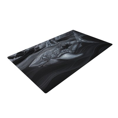 Graham Curran Troubled Joe Black Area Rug Rug Size: 2 x 3