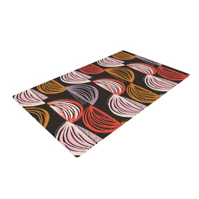 Gill Eggleston Jerome Gray/Red Area Rug Rug Size: 4 x 6