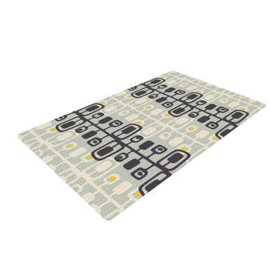 Gill Eggleston Carnaby Beige/Black Area Rug Rug Size: 4 x 6