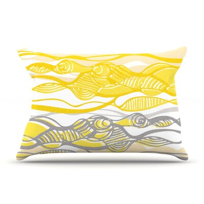 Kalahari by Gill Eggleston Featherweight Pillow Sham Size: Queen, Fabric: Woven Polyester