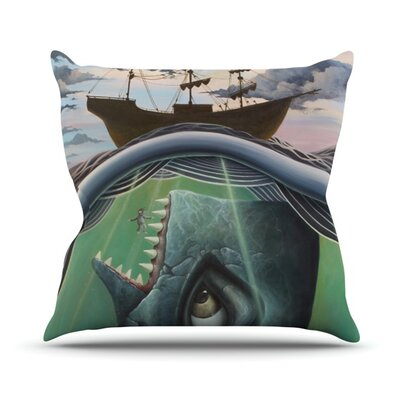 Jonah Throw Pillow Size: 18 H x 18 W x 4.1 D