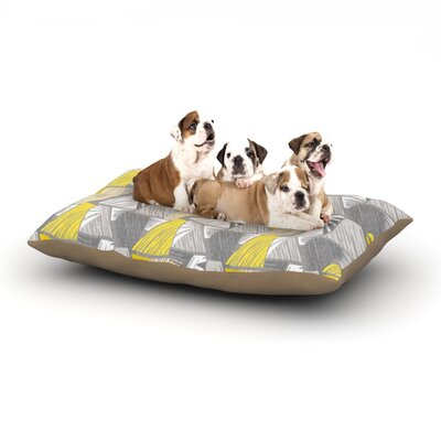 Gill Eggleston Linford Dog Pillow with Fleece Cozy Top Size: Small (40 W x 30 D x 8 H)