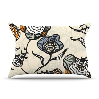 Future Nouveau by Gill Eggleston Featherweight Pillow Sham Size: King, Fabric: Woven Polyester