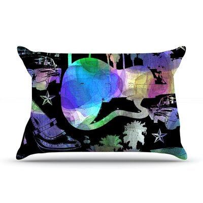 California Dream by Gabriela Fuente Featherweight Pillow Sham Size: Queen, Fabric: Woven Polyester