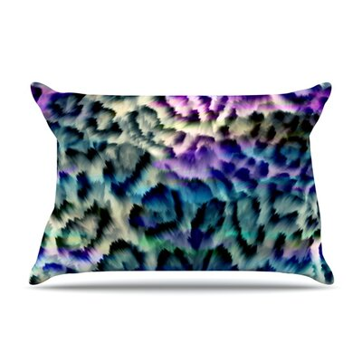 Wild by Gabriela Fuente Featherweight Pillow Sham Size: King, Fabric: Woven Polyester