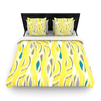 Barengo Sunshine Woven Comforter Duvet Cover Size: King