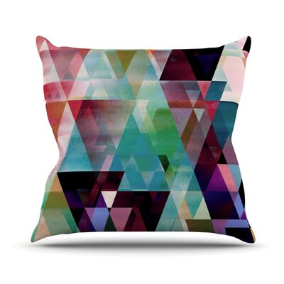 Splash by Gabriela Fuente Throw Pillow Size: 18 H x 18 W x 1 D