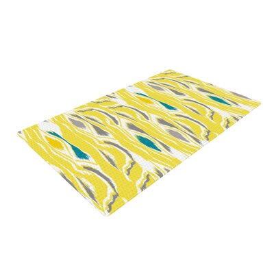 Gill Eggleston Barengo Sunshine Yellow Area Rug Rug Size: 4 x 6