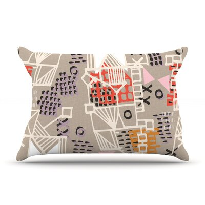 Nico by Gill Eggleston Featherweight Pillow Sham Size: Queen, Fabric: Woven Polyester