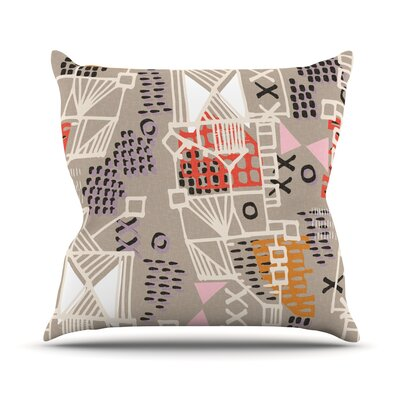 Nico Throw Pillow Size: 18 H x 18 W x 1 D