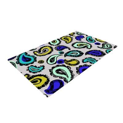 Gabriela Fuente Fun Blue Area Rug Rug Size: 4 x 6