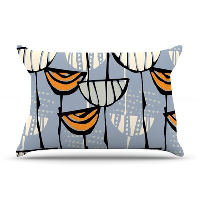 Eden by Gill Eggleston Featherweight Pillow Sham Size: King, Fabric: Woven Polyester