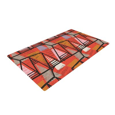 Gill Eggleston Arnaud Orange/Yellow Area Rug Rug Size: 2 x 3
