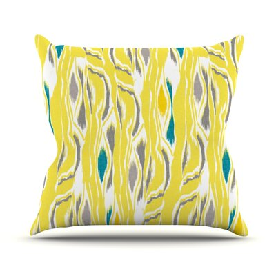 Barengo Sunshine Throw Pillow Size: 18 H x 18 W x 1 D