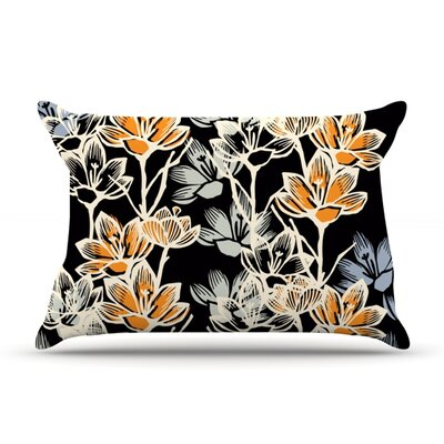Crocus by Gill Eggleston Featherweight Pillow Sham Size: King, Fabric: Woven Polyester