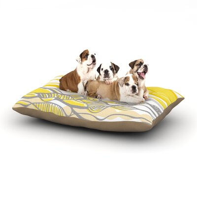 Gill Eggleston Kalahari Dog Pillow with Fleece Cozy Top Size: Small (40 W x 30 D x 8 H)