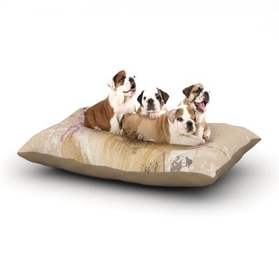 Geordanna Cordero-Fields Llama Me Dog Pillow with Fleece Cozy Top Size: Small (40 W x 30 D x 8 H)