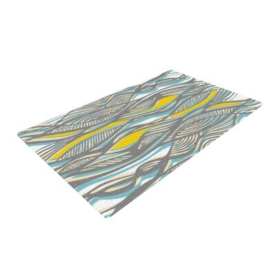 Gill Eggleston Drift Yellow/Gray/Blue Area Rug
