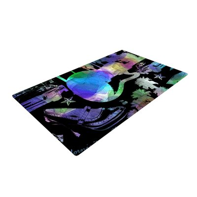 Gabriela Fuente California Dream Abstract Rainbow Area Rug Rug Size: 4 x 6