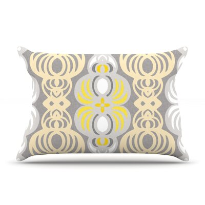 Chalene by Gill Eggleston Featherweight Pillow Sham Size: Queen, Fabric: Woven Polyester