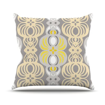 Chalene by Gill Eggleston Throw Pillow Size: 16'' H x 16'' W x 1