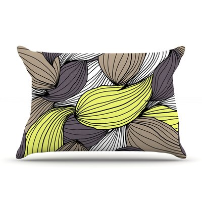 Wild Brush by Gabriela Fuente Featherweight Pillow Sham Size: King, Fabric: Woven Polyester