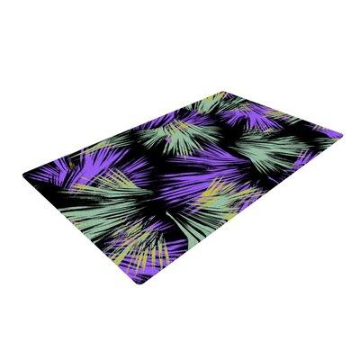 Gabriela Fuente Tropical Fun Purple/Green Area Rug Rug Size: 4 x 6