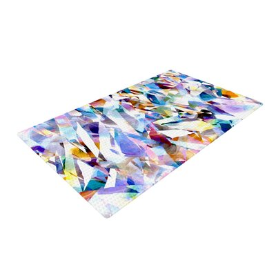 Gabriela Fuente Buzz Purple/Orange Area Rug Rug Size: 4 x 6