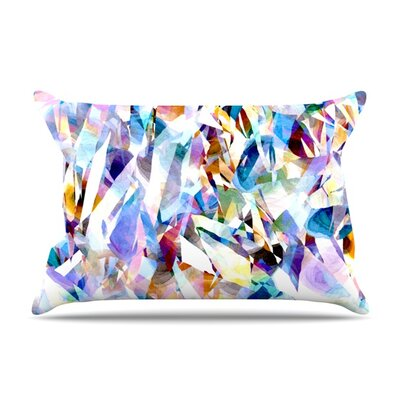Buzz by Gabriela Fuente Featherweight Pillow Sham Size: King, Fabric: Woven Polyester