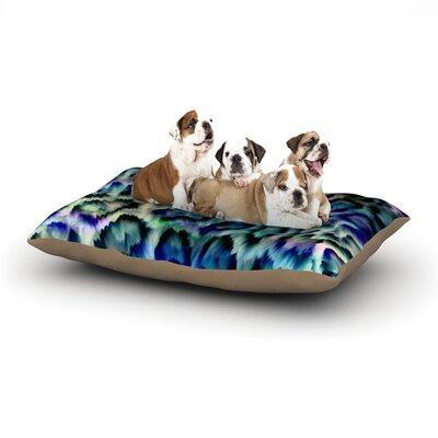 Gabriela Fuente Wild Dog Pillow with Fleece Cozy Top Size: Small (40 W x 30 D x 8 H)