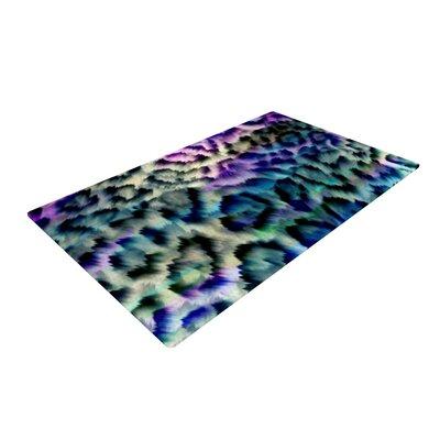 Gabriela Fuente Wild Purple/Black Area Rug Rug Size: 2 x 3