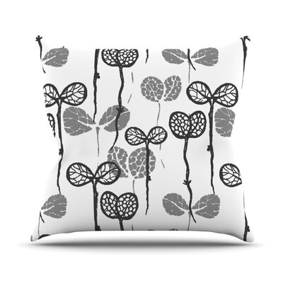 Seedlings of Change Throw Pillow Size: 16 H x 16 W x 1 D