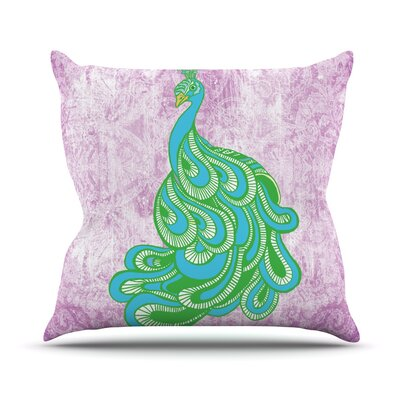 Beauty in Waiting by Geordanna Cordero-Fields Throw Pillow Size: 20 H x 20 W x 1 D
