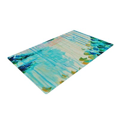 Ebi Emporium Poseidon Polyester Blue Indoor Doormat Mat Size: Rectangle 2 x 3