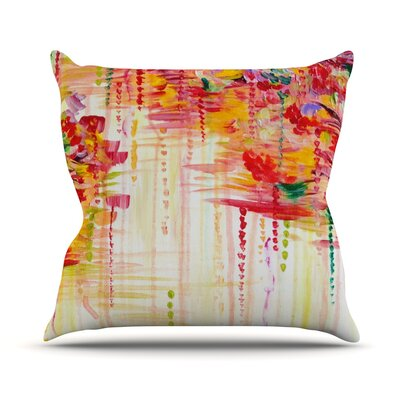Stormy Moods by Ebi Emporium Throw Pillow Size: 20 H x 20 W x 4 D
